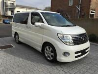 Nissan Elgrand 2006 HIGHYWAY STAR 3.5 AUTO PETROL FRONT/REAR CAMERAS IN-ROOF SCR