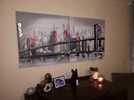 Wall Art Painting Designer Style 2 Canvas Large Picture