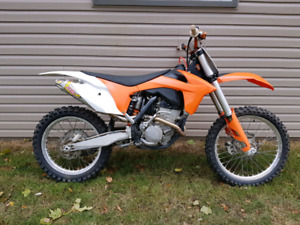 Ktm 250 sxf with ownership