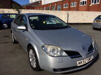 2002 52 Nissan Primera 2.0 t-spec Automatic low mileage