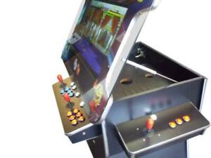 """HAND MADE 3 SIDED 2475 GAMES INBUILT ARCADE MACHINE WITH LIFT 26"""""""