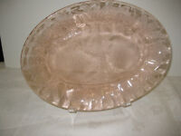Pink Depression Glass -- FROM PAST TIMES Antiques - 1178 Albert