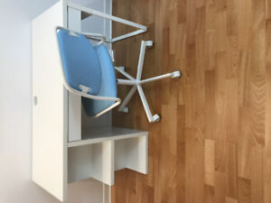 Desk and Chair (ikea)