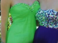 Prom Dress Lime Green