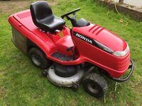 Honda 26/20 ride on mower