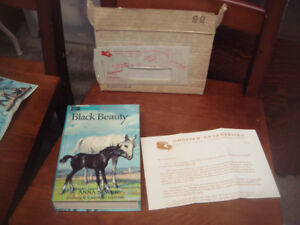 twin books black beauty and the call of the wild 1960's