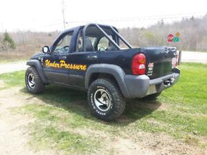 Jeep liberty pull truck