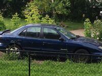 2001 Pontiac Sunfire for parts
