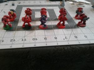 Warhammer blood angel marines