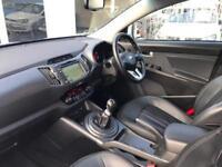 2013 Kia Sportage Sportage Diesel white Manual