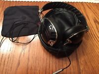 Roc Nation Aviator headphones Black w/ MIC