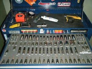 """Complete Tool Chest with Tools and Husqvarna 445 18-20"""" Chainsaw"""