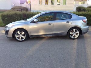 2010 Mazda Mazda3 Sport 2.5 L 6 Speed Sedan