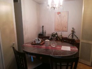 Lease transfer for a 3 1/2 apartment furnished in the Rockhill