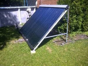 24 tube evacuated solar panel Brand New! Half Price! retails 2k West Island Greater Montréal image 4