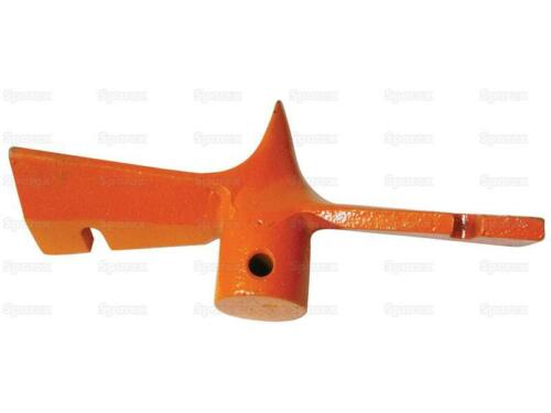 "Leinbach 12"" Auger Tip Cast Iron Post Hole Digger End Blade Sparex S74734"
