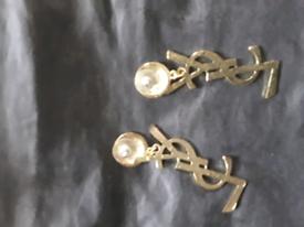 Ladie pierced earrings