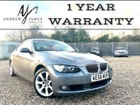 2007 BMW 325 COUPE 330 2.5i SE AUTOMATIC M-SPORT EXTRAS ☆ STUNNING RED LEATHER!