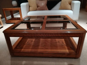 Set of 1 Coffee Table and 1 End Table