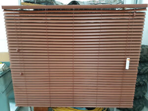 """1 1/2"""" BEVELLED FAUXWOOD BLINDS"""