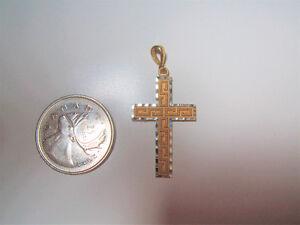 10k Gold Cross