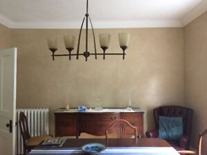 Dining room table and/or kitchen table light