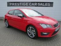 2014 SEAT Leon 1.4 TSI FR SportCoupe (s/s) 3dr Petrol red Manual
