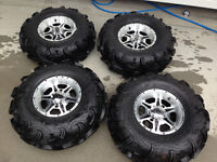 """28"""" MAXXIS ZILLAS on can am rims"""