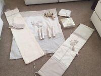 Brand new Mamas and Papas nursery set