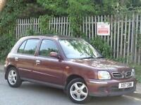 2001 NISSAN MICRA 1.4 AUTOMATIC***GENUINE 31K MILES + 2 PRE OWNERS +