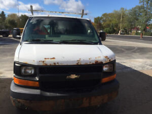 2007 CHEVY  2500 VAN 4.8 L   PARTING OUT