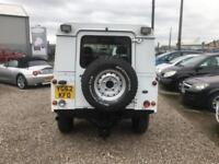 LAND ROVER DEFENDER 2.2 TD HARD TOP 122 BHP DIESEL FINANCE PARTX