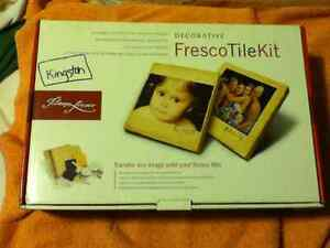 Decorative Fresco Tile Kit  -- Brand New! FIRM AND REDUCED!