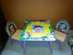 Dora the Explorer Drawing Table