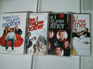 How I Met Your Mother DVD lot Seasons 1-4 Adult owned nice shape
