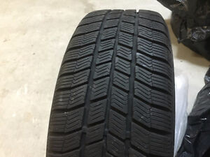 WINTER TIRES ON RIMS SET 5x114,3  R16