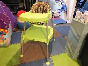 Chaise haute Evenflo
