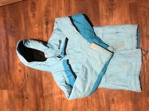 Girls Columbia blue 10/12 ski snow jacket