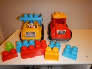 MEGA BLOCKS TRUCKS
