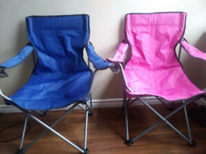 Folding Beach Lawn Chairs (set of 2)