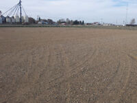 2 acres for Rent- commercial lot with gravel base, power, water