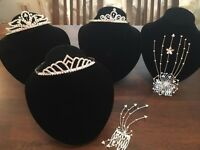 Tiara's and hair pieces NEW