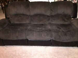 3pc recliner couch set