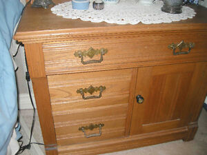 3 piece antique oak bedroom set late 1800's Oakville / Halton Region Toronto (GTA) image 9