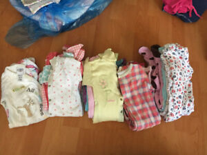 15 girls sleepers 6months