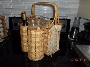 Romantic Picnic Basket