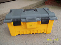 Plano 22 in. Power Tool Box with Tray