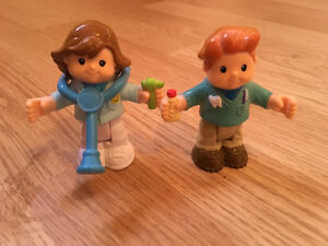 Little people dentist and doctor