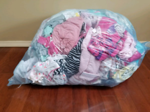 N-6 month girl clothes lot