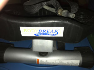 Body Break Stepper (requires battery) that has been little used